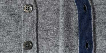 cardigan sweater mens buttons and trim
