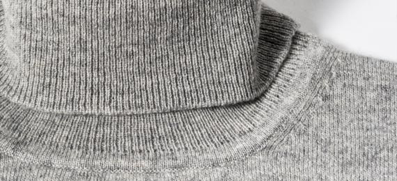 mens turtleneck details