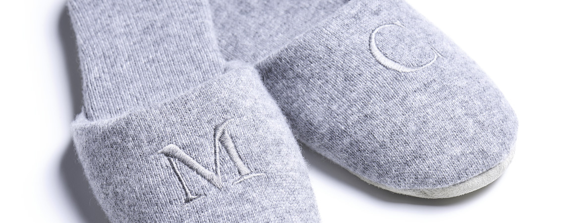 Unisex Cashmere Bedroom Slippers