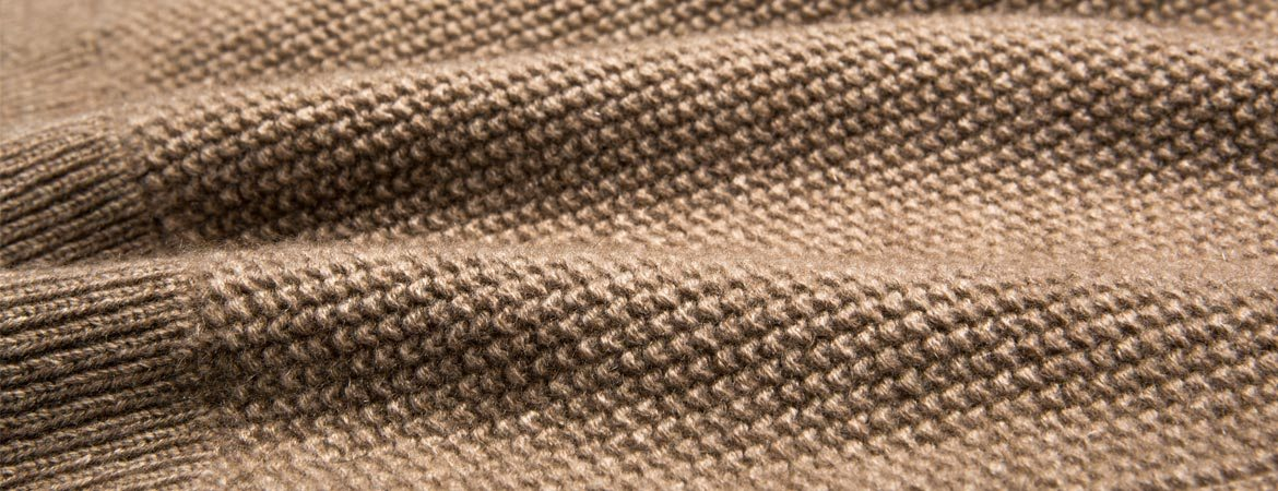 Cashmere Seed Stitch Blanket