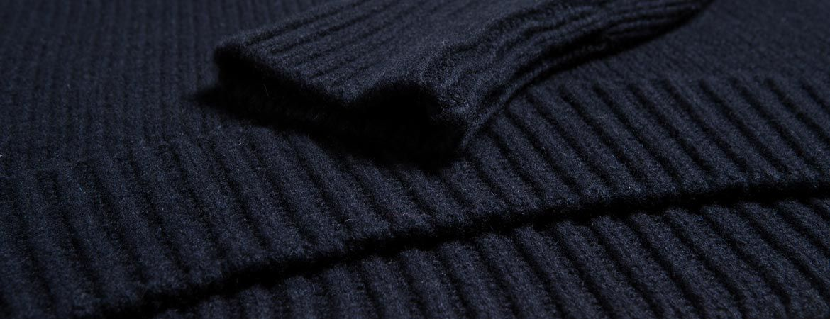 Lambswool & Cashmere Maxi Crew Neck